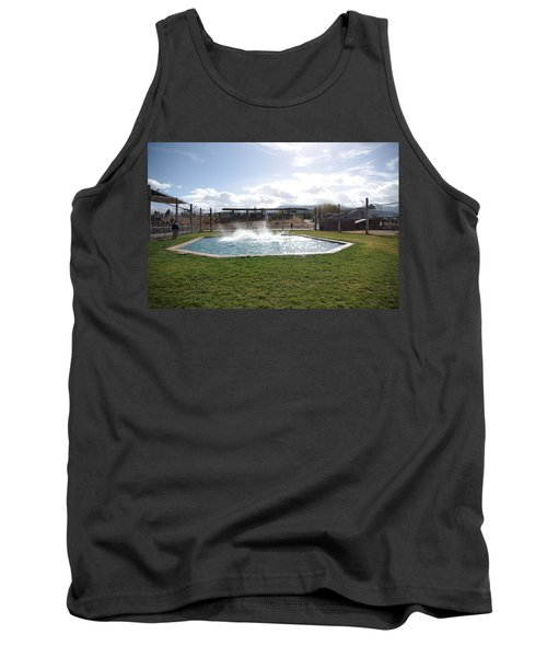 Out Of Africa Tiger Splash 9 Tank Top