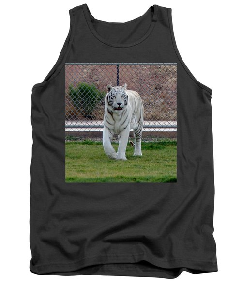 Out Of Africa White Tiger Tank Top