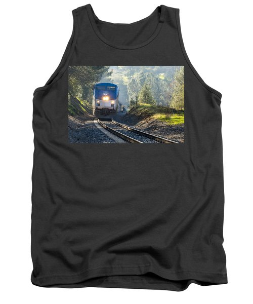 Tank Top featuring the photograph Out Of The Mist by Jim Thompson