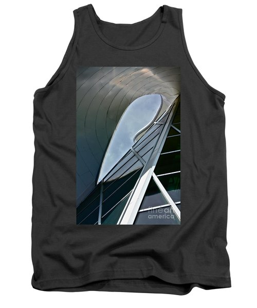 Outer Space Tank Top by Linda Bianic