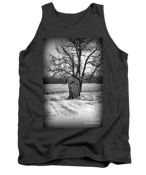 Outhouse In The Snow Tank Top