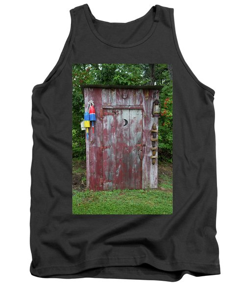 Outhouse Shed In A Garden, Marion Tank Top