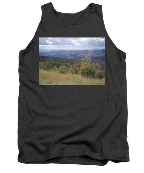 Tank Top featuring the photograph Overlook Into The Mist by Fortunate Findings Shirley Dickerson