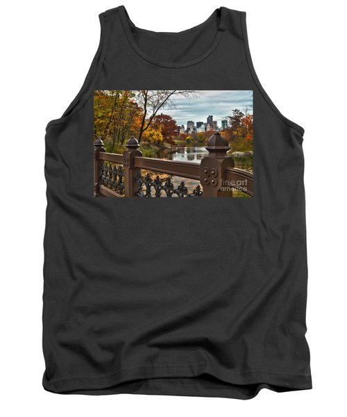 Overlooking The Lake Central Park New York City Tank Top