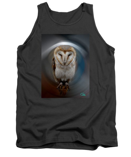 Owl Alba  Spain  Tank Top by Colette V Hera  Guggenheim