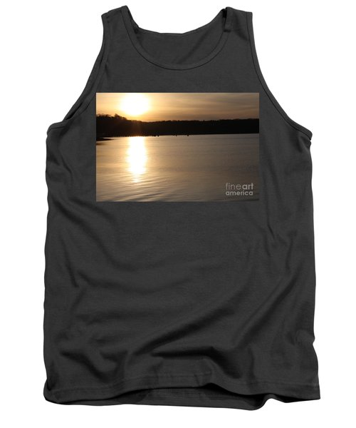 Oyster Bay Sunset Tank Top by John Telfer