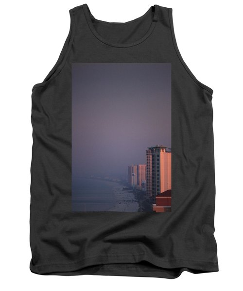 Panama City Beach In The Morning Mist Tank Top