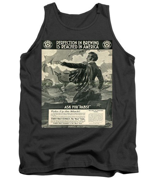 Tank Top featuring the digital art Pabst by Cathy Anderson
