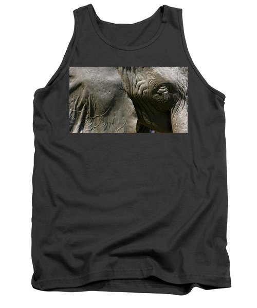 Tank Top featuring the photograph Pachyderm by Jennifer Wheatley Wolf