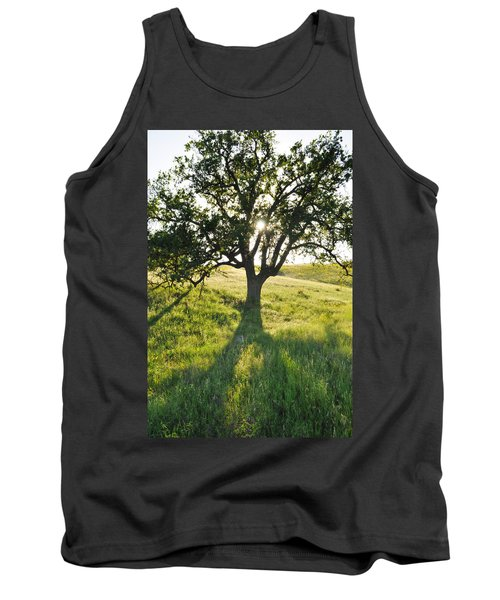 Tank Top featuring the photograph Pacific Coast Oak Malibu Creek by Kyle Hanson