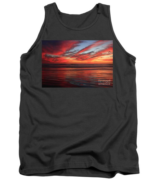 Tank Top featuring the photograph Oceanside Reflections by John F Tsumas