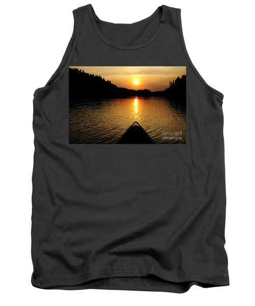 Paddling Off Into The Sunset Tank Top