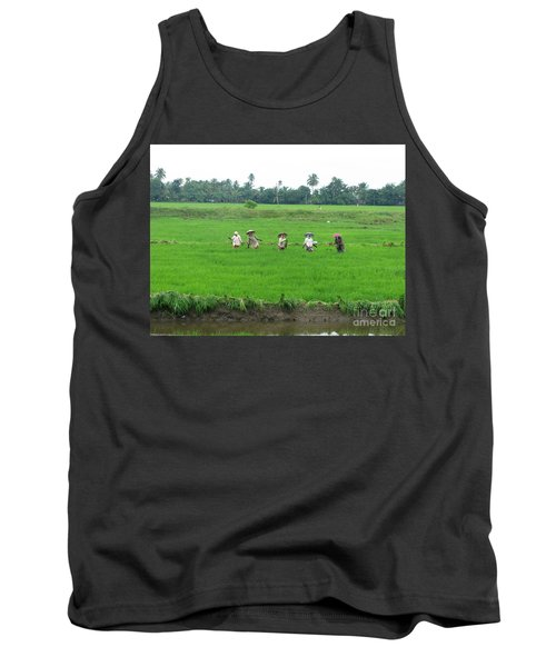 Paddy Field Workers Tank Top