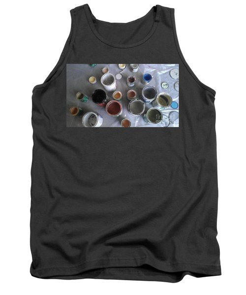 Tank Top featuring the photograph Paint by Chris Tarpening