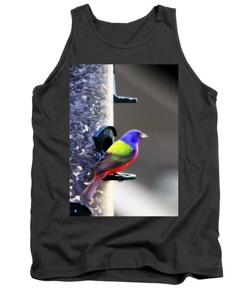 Painted Bunting - Img 9757-002 Tank Top by Travis Truelove