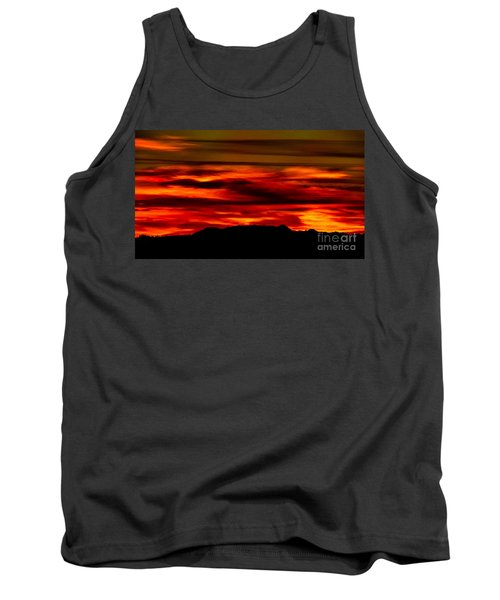 Tank Top featuring the photograph Painted Sky 34 by Mark Myhaver