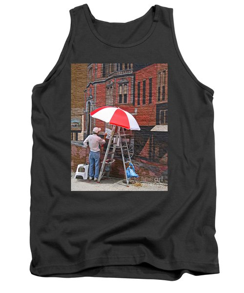 Tank Top featuring the photograph Painting The Past by Ann Horn