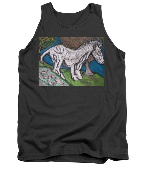 Tank Top featuring the painting Out There Alone. by Jonathon Hansen