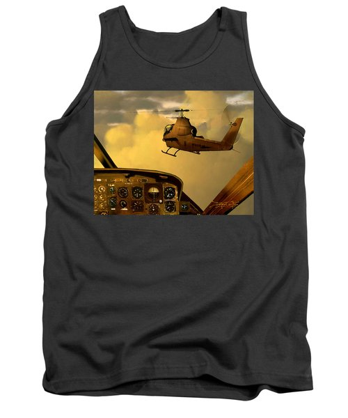 Palette Of The Aviator Tank Top