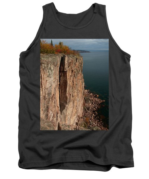 Tank Top featuring the photograph Palisade Depths by James Peterson