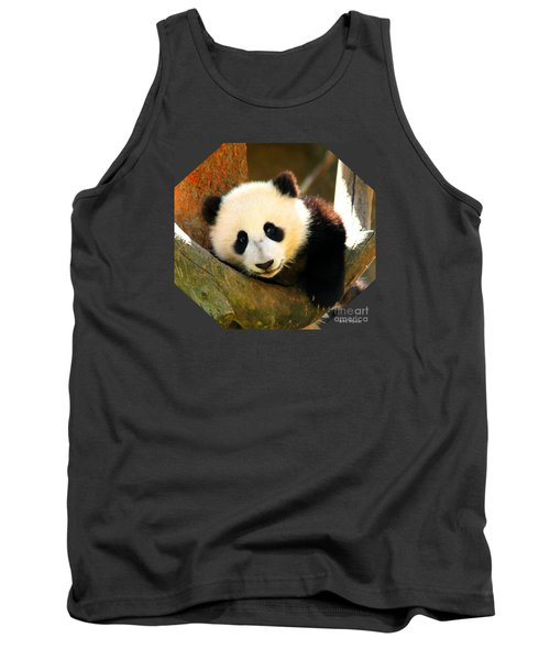 Panda Bear Baby Love Tank Top