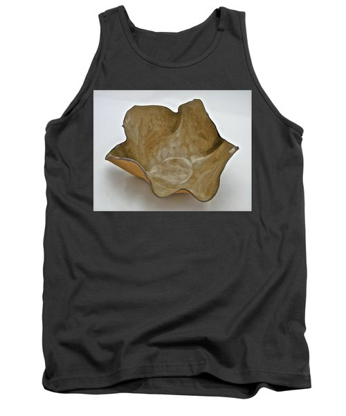 Tank Top featuring the sculpture Paper-thin Bowl  09-010 by Mario Perron