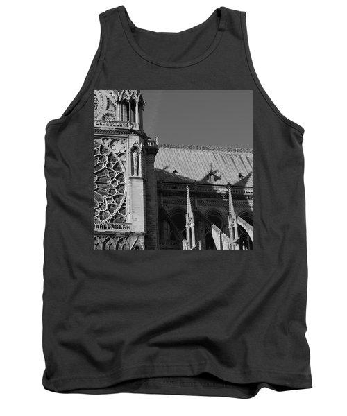 Paris Ornate Building Tank Top