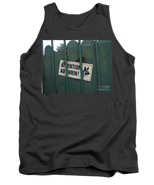 Tank Top featuring the photograph Paris - Farm Dog by HEVi FineArt