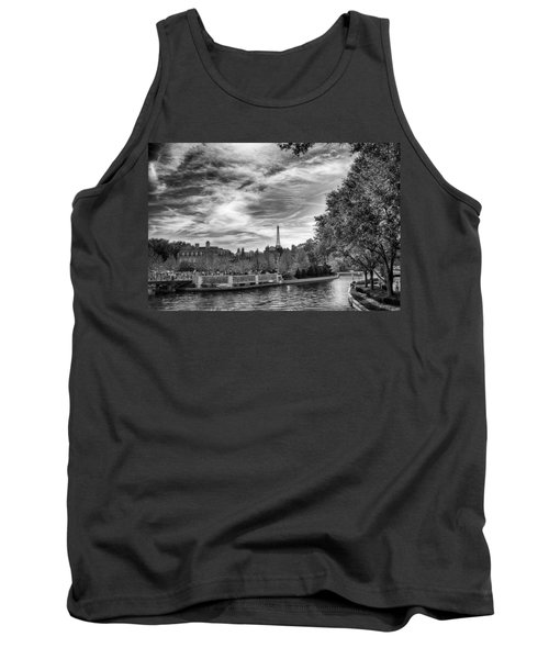 Tank Top featuring the photograph Paris by Howard Salmon