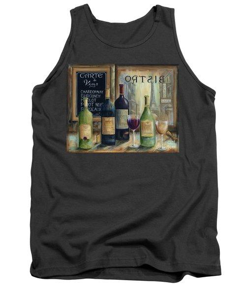 Paris Wine Tasting Tank Top