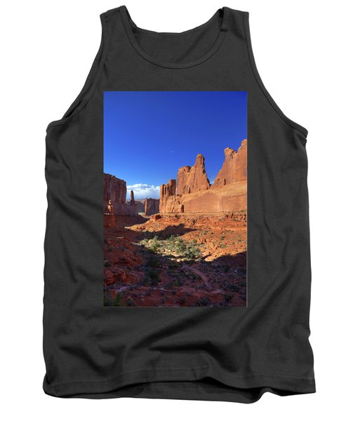 Park Avenue Sunset Tank Top by Alan Vance Ley