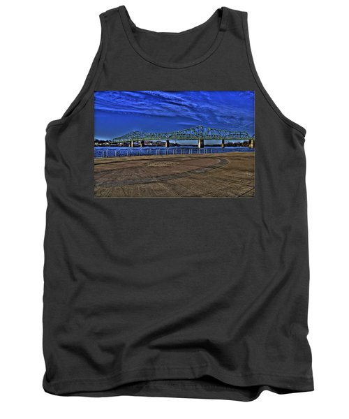 Tank Top featuring the photograph Parkersburg Point Park by Jonny D