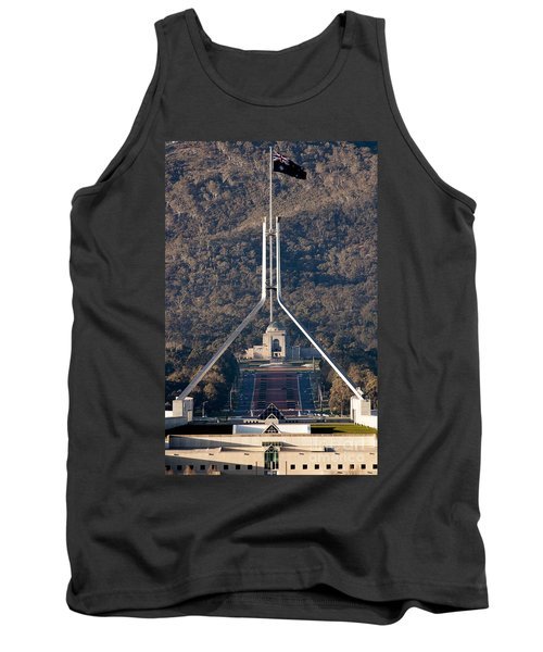 Parliament And War Memorial Australia Tank Top