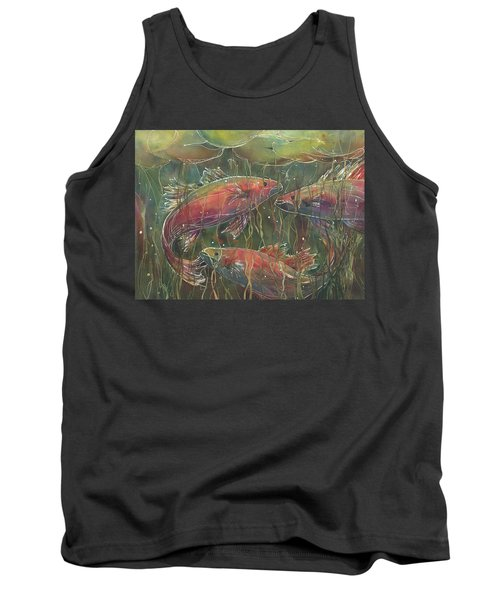 Party Under The Lily Pads Tank Top