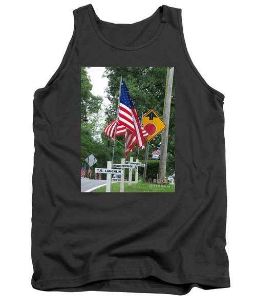 Tank Top featuring the photograph Past Heros by Marilyn Zalatan