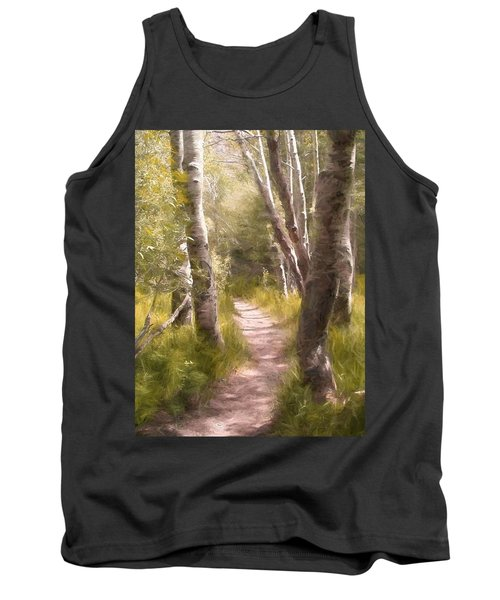 Path 1 Tank Top by Pamela Cooper