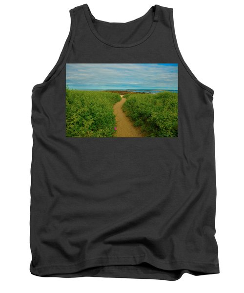 Path To Blue Tank Top