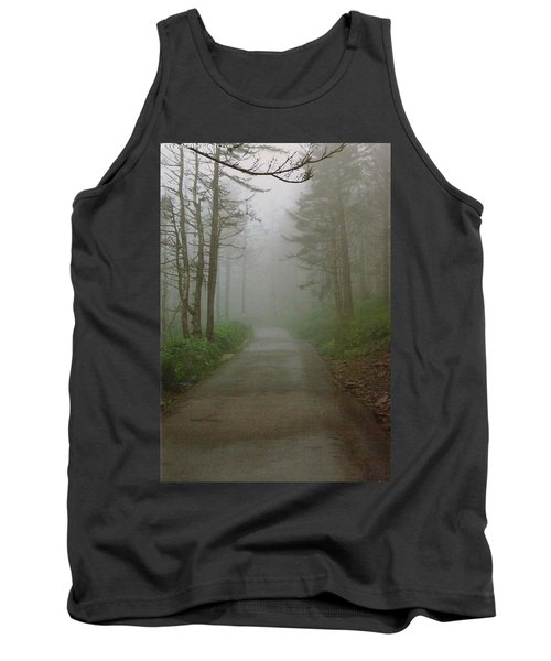 Path To Clingmans Dome Tank Top by Karin Thue