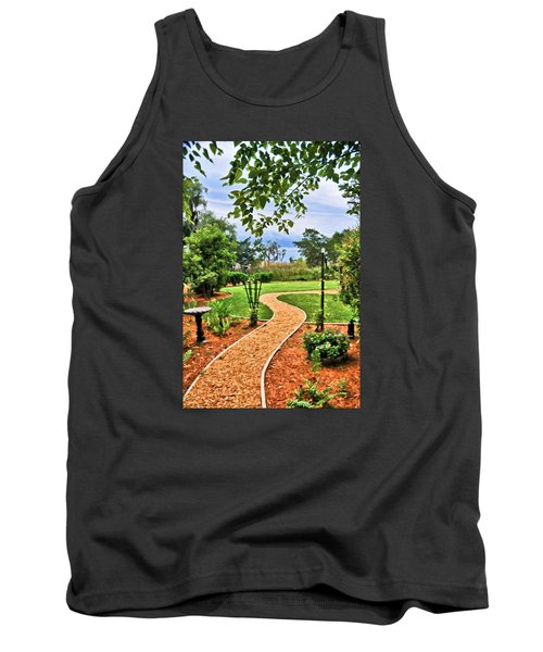 Garden Path To Wild Marsh Tank Top