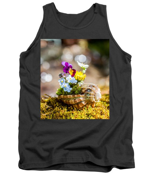 Patterns In Nature Tank Top by Aaron Aldrich