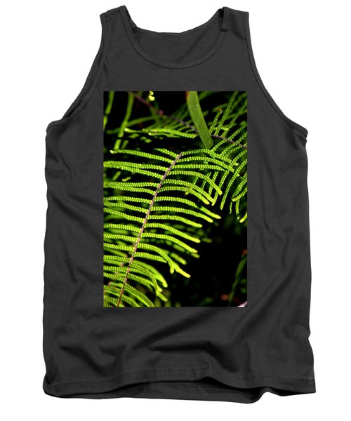Tank Top featuring the photograph Pauched Coral Fern by Miroslava Jurcik
