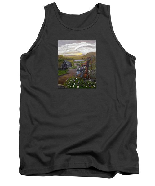 Peace In The Valley Tank Top by Sheri Keith