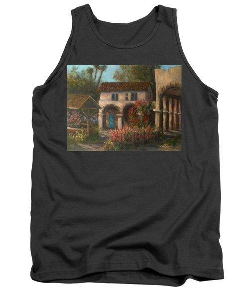Peaceful Landscape Paintings Tank Top