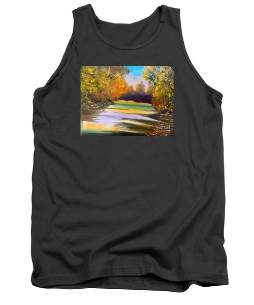 Peaceful River Tank Top