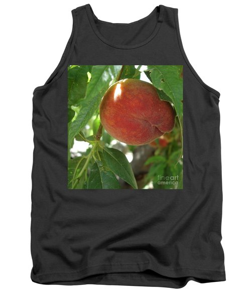 Tank Top featuring the photograph Peach by Kerri Mortenson