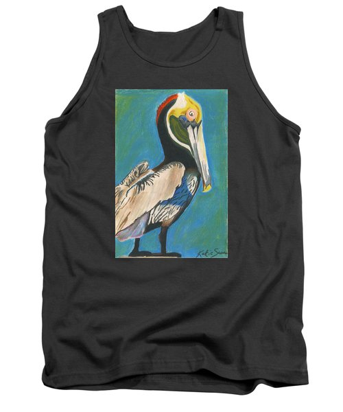 Pelican Blue Tank Top