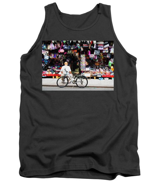Pell St. Chinatown  Nyc Tank Top by Joan Reese