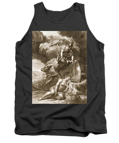 Perseus Cuts Off Medusas Head, 1731 Tank Top by Bernard Picart