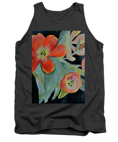 Tank Top featuring the painting Persevere by Beverley Harper Tinsley