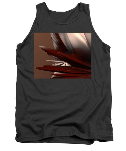 Petals And Stone 2 Tank Top
